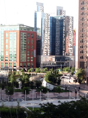 The Rose Fitzgerald Kennedy Greenway in Boston's North End. Credit: Joanna Woerner/IAN UMCES.